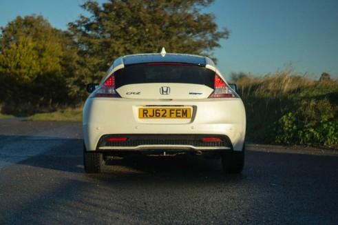 2013 Honda CRZ Review - Rear - carwitter