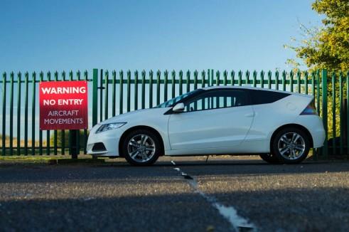 2013 Honda CRZ Review - Side Scene - carwitter