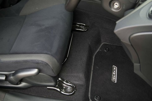 2013 Honda Civic Review Fuel Tank Under Front Seats carwitter 491x326 - 2013 Honda Civic Review – Perfect family hatch - 2013 Honda Civic Review – Perfect family hatch