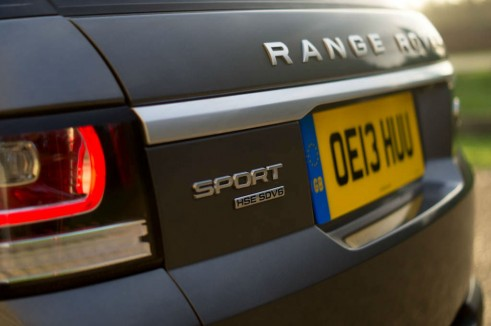 2013 Range Rover Sport Review Rear Badge carwitter 491x326 - 2013 Range Rover Sport Review– The bargain Range? - 2013 Range Rover Sport Review– The bargain Range?