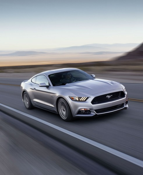 2014 2015 Ford Mustang Front- carwitter