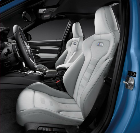 2014 BMW M3 Front Seats - carwitter