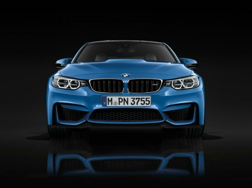 2014 BMW M3 Front - carwitter