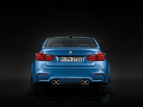 2014 BMW M3 Rear - carwitter