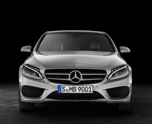 2014 Mercedes Benz C-Class Front - carwitter