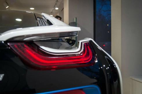 BMW i8 Park Lane London - Rear Light 2 - carwitter