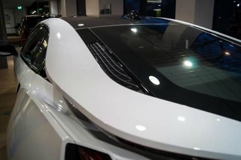 BMW i8 Park Lane London - Rear Quarter Detail - carwitter