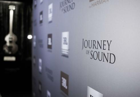 Ferrari FF JBL HARMAN Journey Of Sound Banner - carwitter