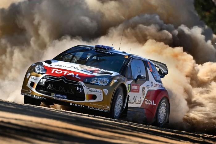 Kris Meeke Citroen DS3 WRC Australia 2013 - carwitter