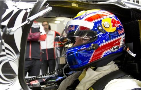 Mark Webber LMP1 Porsche Testing In Car - carwitter