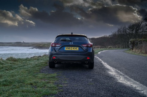 Mazda 3 Review - Rear Hatch - carwitter