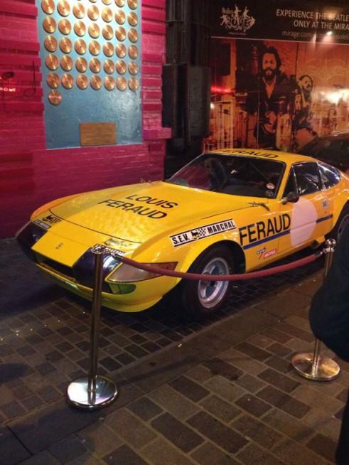 Nick Mason Le Mans Ferrari Daytona - carwitter
