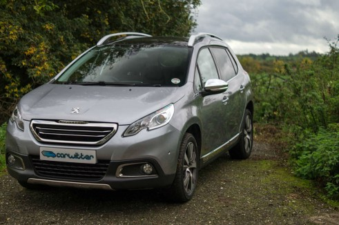 Peugeot 2008 Review Front Angle carwitter 491x326 - Peugeot 2008 Review – Practical mini crossover - Peugeot 2008 Review – Practical mini crossover