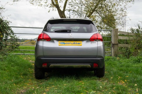 Peugeot 2008 Review Rear carwitter 491x326 - Peugeot 2008 Review – Practical mini crossover - Peugeot 2008 Review – Practical mini crossover