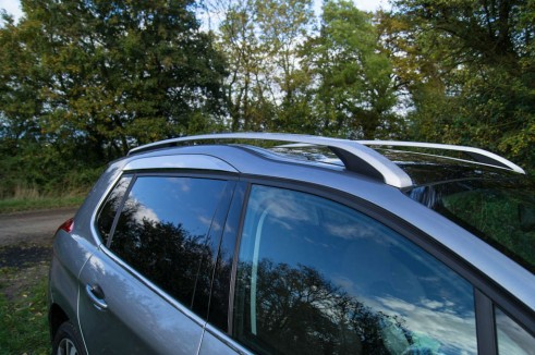 Peugeot 2008 Review Roof Bars carwitter 491x326 - Peugeot 2008 Review – Practical mini crossover - Peugeot 2008 Review – Practical mini crossover