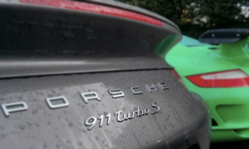 TurboSRear4Carwitter 491x294 - A look around the Porsche 991 Turbo S - A look around the Porsche 991 Turbo S