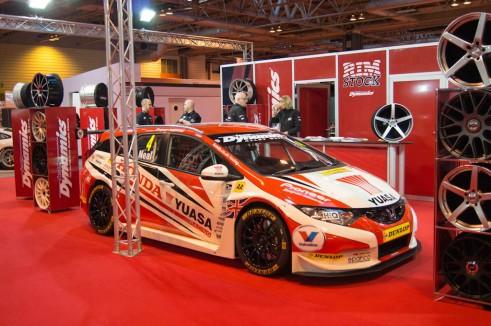 Autosport Show 2014 Review - 2014 Civic Tourer BTCC - carwitter