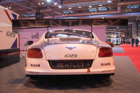 Autosport Show 2014 Review - Bentley Continental GT3 Rear - carwitter