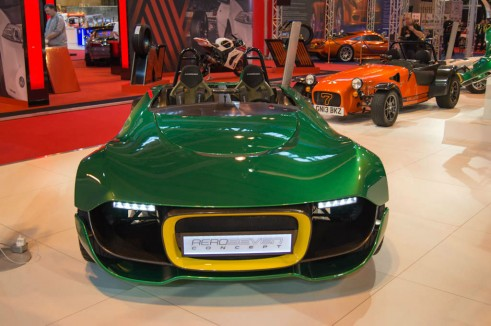 Autosport Show 2014 Review - Ceterham Aero Severn Concept Front - carwitter