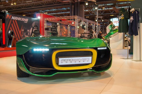 Autosport Show 2014 Review - Ceterham Aero Severn Front - carwitter