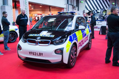 Autosport Show 2014 Review -Police BMW i3 - carwitter
