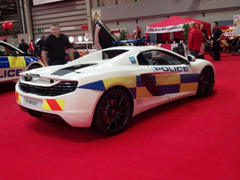 Autosport Show 2014 Review - Police McLaren MP4 12C - carwitter
