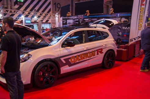 Autosport Show 2014 Review -Qashqai R Side - carwitter