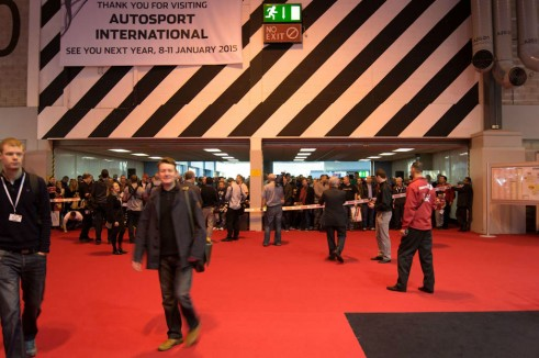 Autosport Show 2014 Review - Ribbon Cut - carwitter