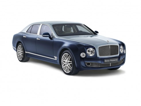 Bentley Birkin Mulsanne Dark Sapphire Front - carwitter