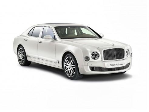 Bentley Birkin Mulsanne Ghost White Front - carwitter