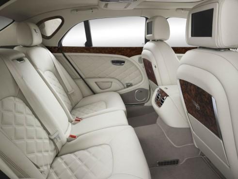 Bentley Birkin Mulsanne Ghost White Interior - carwitter
