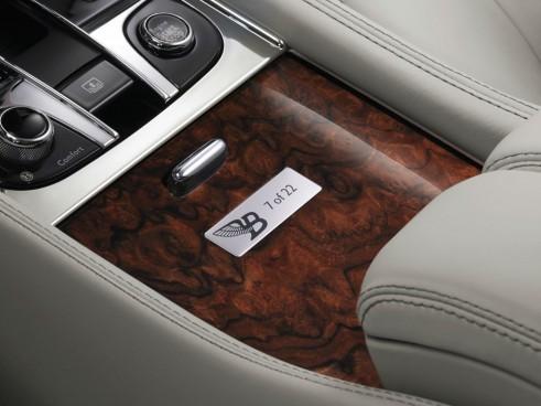 Bentley Birkin Mulsanne Ghost White Plaque - carwitter