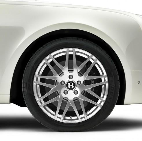 Bentley Birkin Mulsanne Ghost White Wheel - carwitter