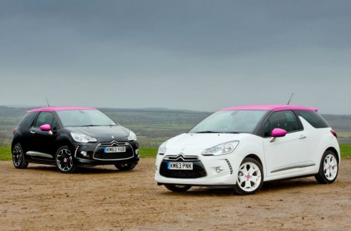 Citroën DS3 Pink Special Edition - Front - carwitter