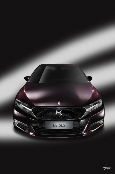 Citroen DS 5LS - Front - carwitter