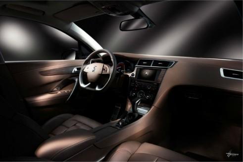 Citroen DS 5LS - Interior - carwitter
