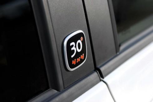 Fiat Panda 4x4 Antarctica Side Badge - carwitter