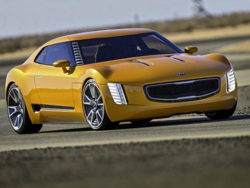 Kia GT4 Stinger front 2 - carwitter