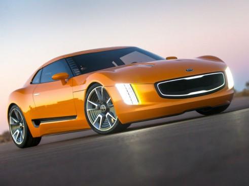 Kia GT4 Stinger front - carwitter