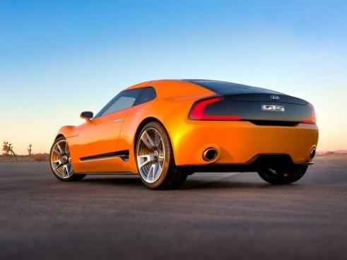Kia GT4 Stinger rear - carwitter