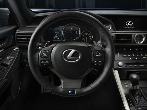 Lexus RC F dash carwitter 491x368 - Lexus RC F specs - Lexus RC F specs