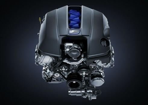 Lexus RC F engine carwitter 491x347 - Lexus RC F specs - Lexus RC F specs