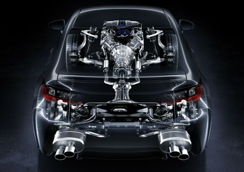 Lexus RC F transmission carwitter 491x347 - Lexus RC F specs - Lexus RC F specs