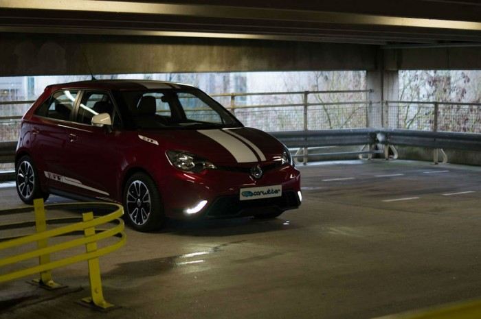 MG3 Review - Front Angle Scene - carwitter