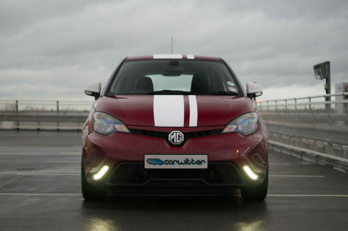 MG3 Review - Front - carwitter