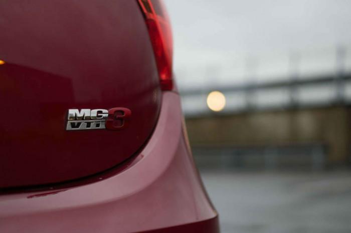 MG3 Review - MG3 Rear Badge - carwitter