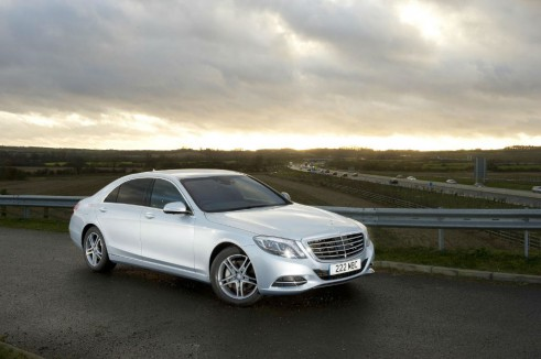 Mercedes Benz S Class S350 Side - carwitter