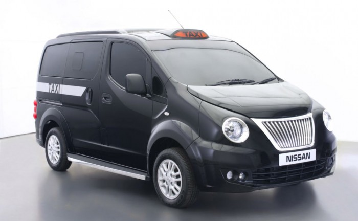 Nissan NV200 London Taxi Front Angle carwitter 700x432 - Nissan NV200 London Taxi...eurgh! - Nissan NV200 London Taxi...eurgh!