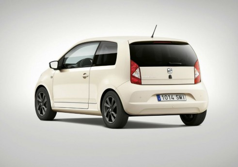 SEAT Mii By Mango Rear Nude - carwitter