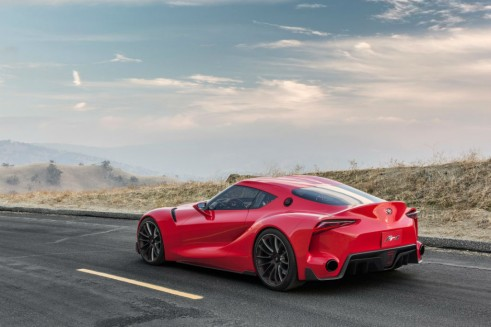 Toyota FT-1 Concept Rear Angle Close - carwitter
